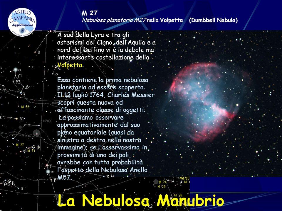 M 27Nebulosa planetaria M27 nella Volpetta (Dumbbell Nebula)