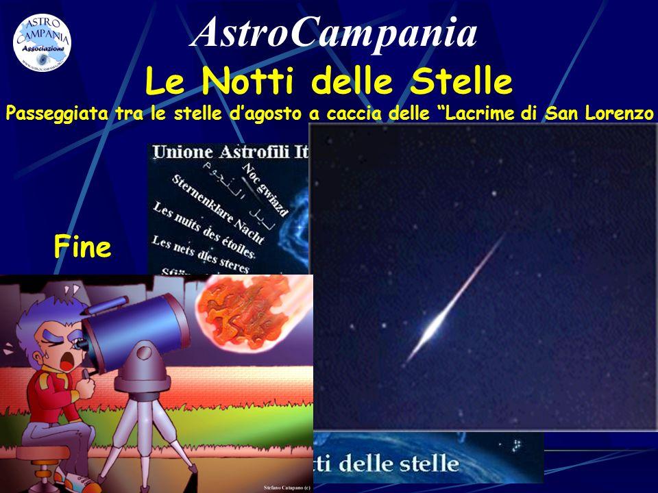 AstroCampania Le Notti delle Stelle Fine