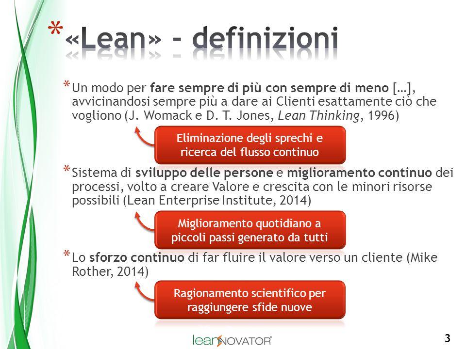 «Lean» - definizioni
