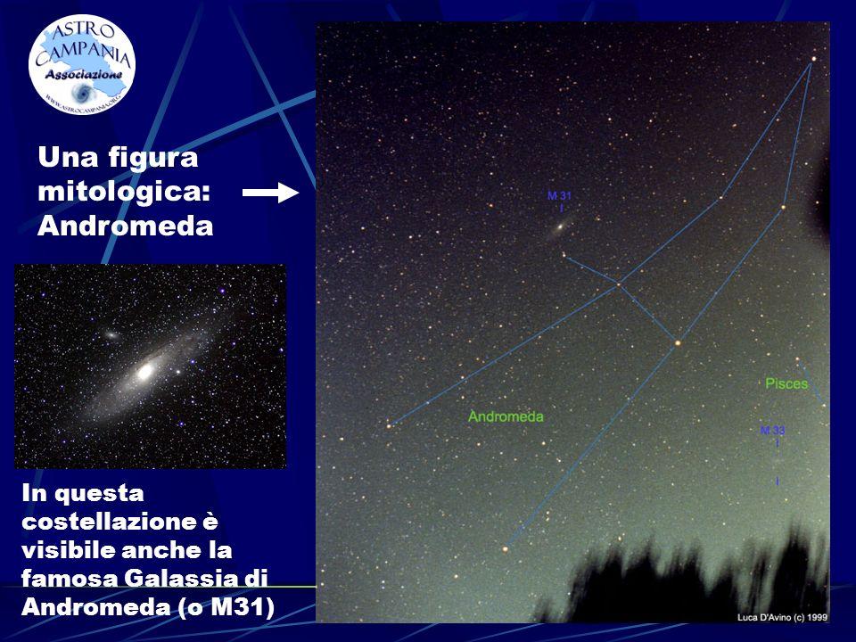 Una figura mitologica: Andromeda