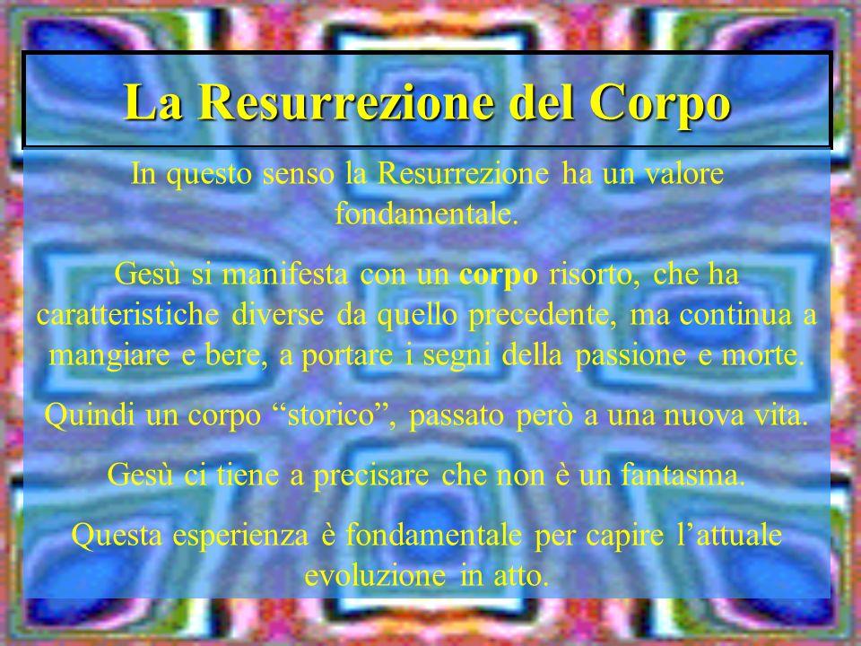 La Resurrezione del Corpo