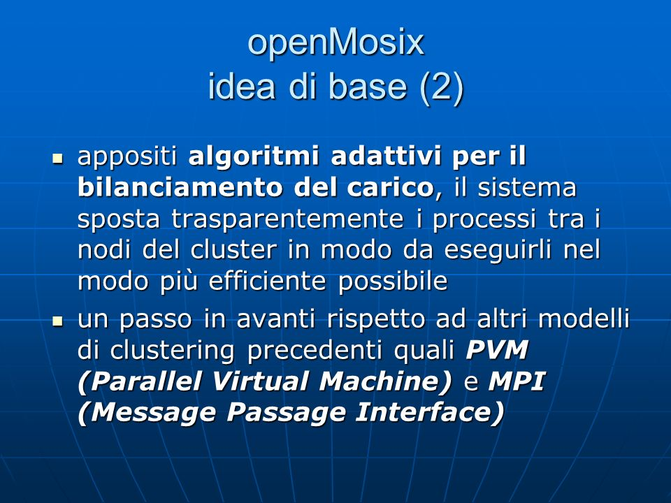 openMosix idea di base (2)