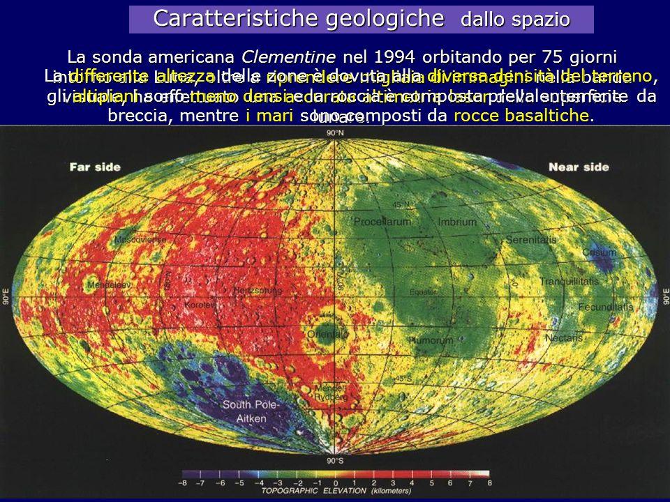 Caratteristiche geologiche dallo spazio