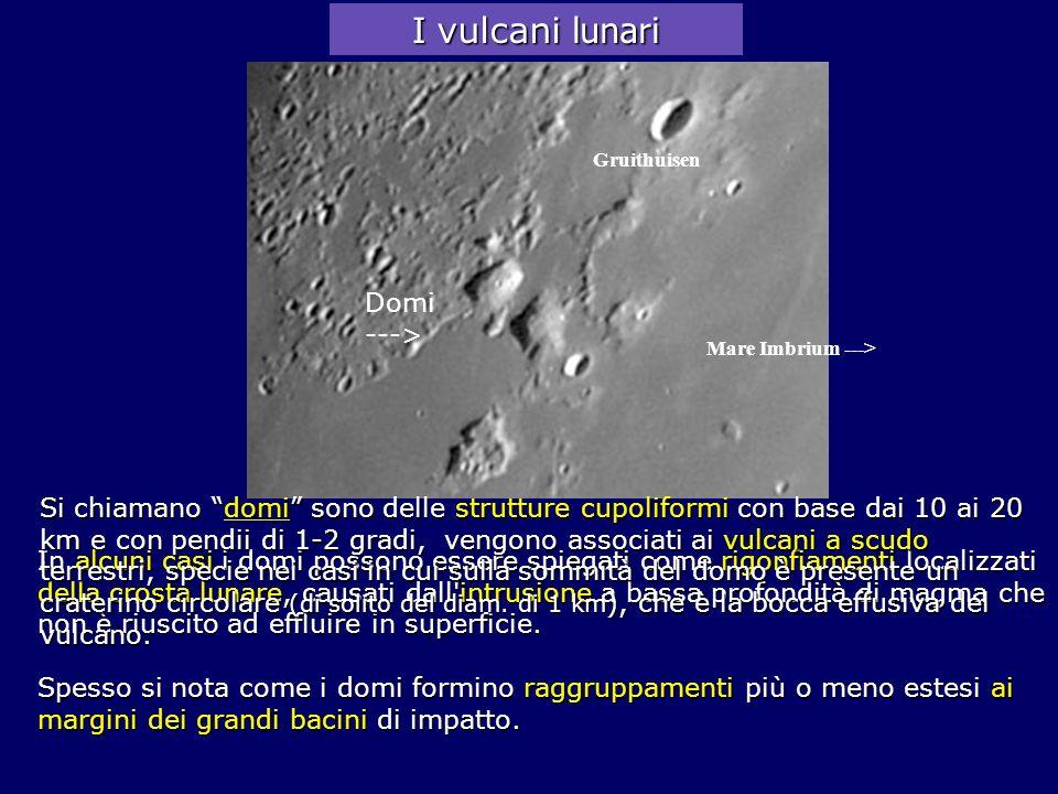 I vulcani lunari Domi --->
