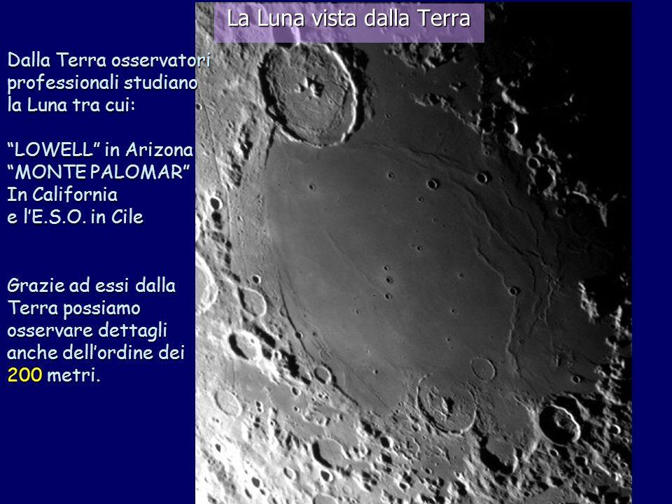 La Luna vista dalla Terra