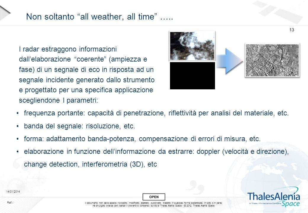 Non soltanto all weather, all time …..