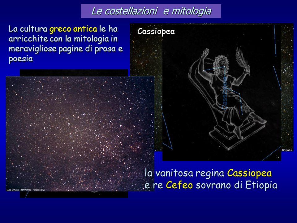 Le costellazioni e mitologia