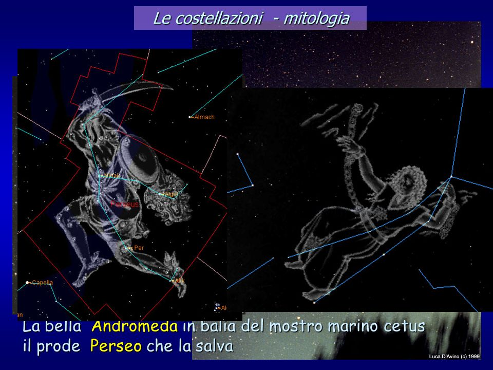Le costellazioni - mitologia