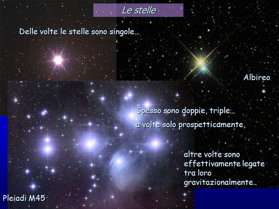 Le stelle Delle volte le stelle sono singole… Albireo