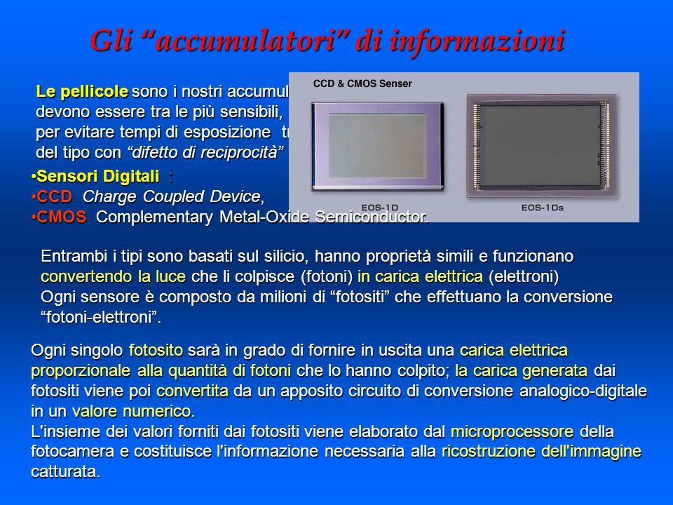 Gli accumulatori di informazioni