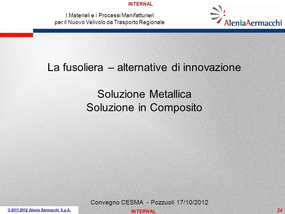 La fusoliera – alternative di innovazione Soluzione Metallica