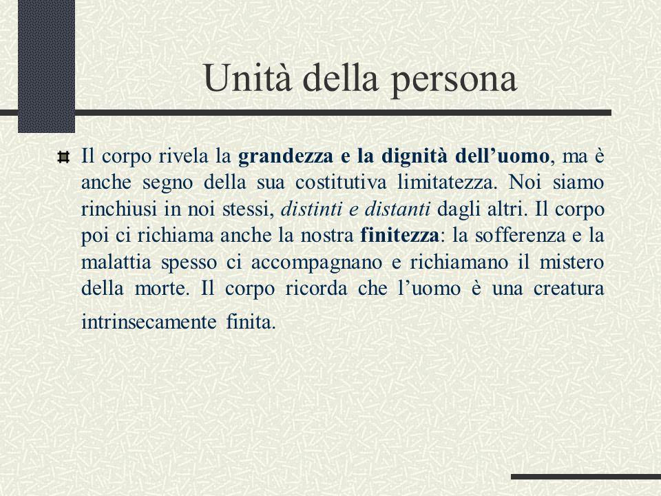 Unità della persona