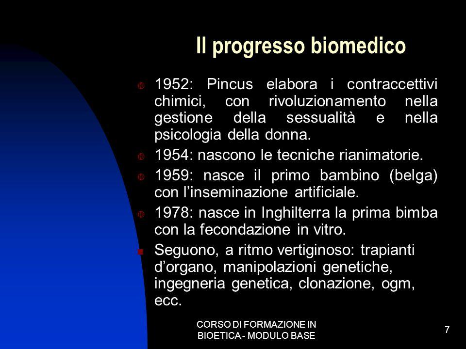 Il progresso biomedico