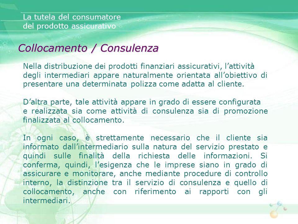 Collocamento / Consulenza