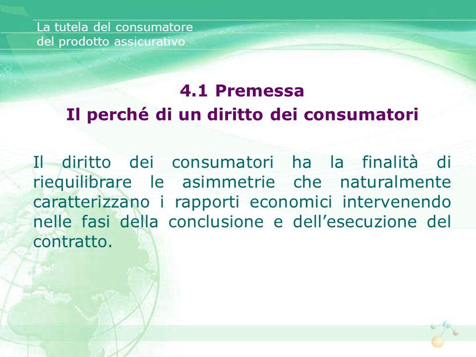 Il perché di un diritto dei consumatori