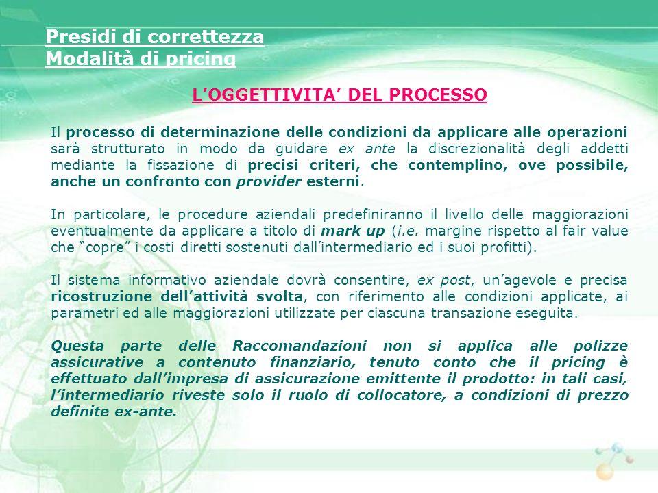 L'OGGETTIVITA' DEL PROCESSO