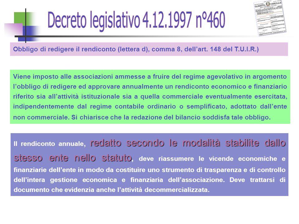 Decreto legislativo 4.12.1997 n°460