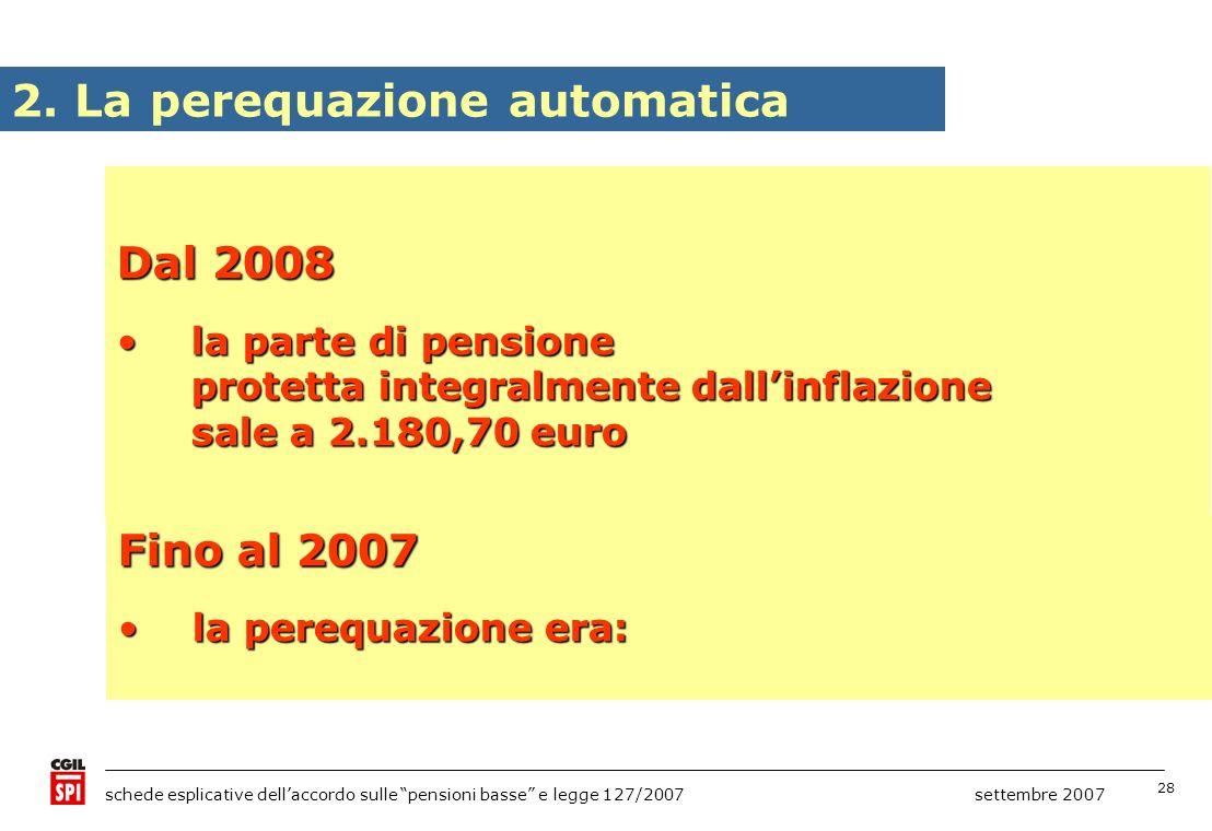 2. La perequazione automatica