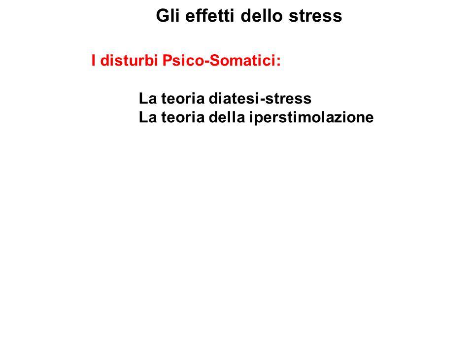Gli effetti dello stress