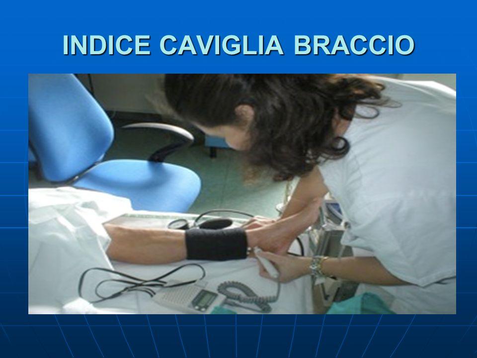 INDICE CAVIGLIA BRACCIO