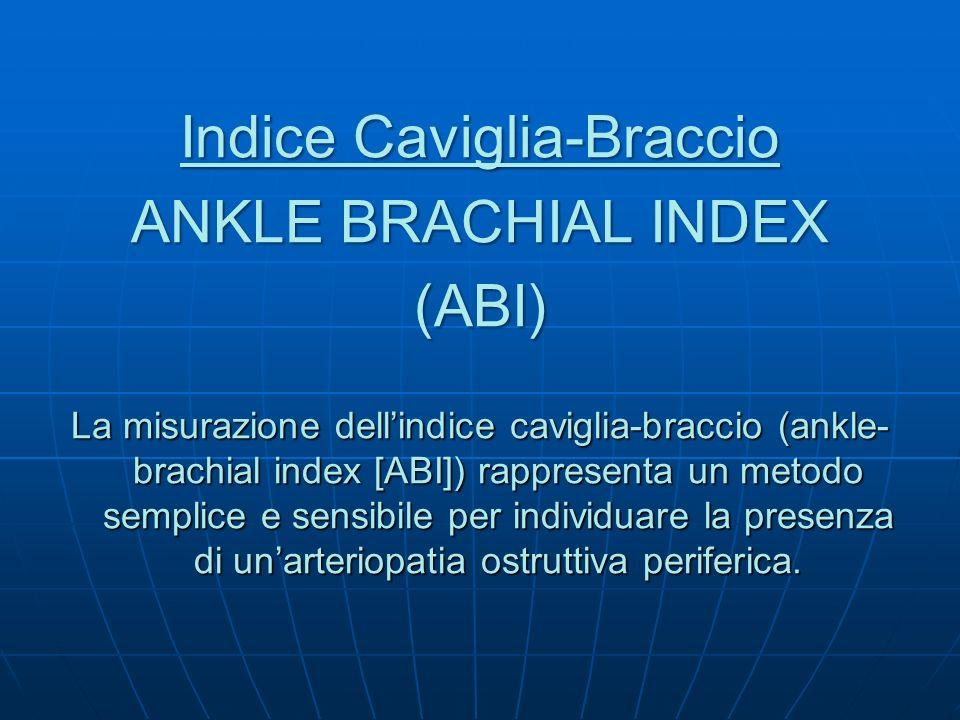 Indice Caviglia-Braccio