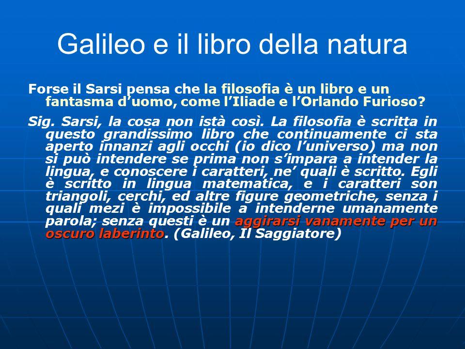 Galileo e il libro della natura