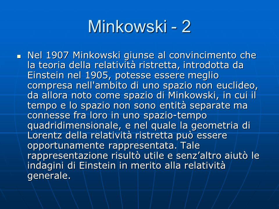 Minkowski - 2