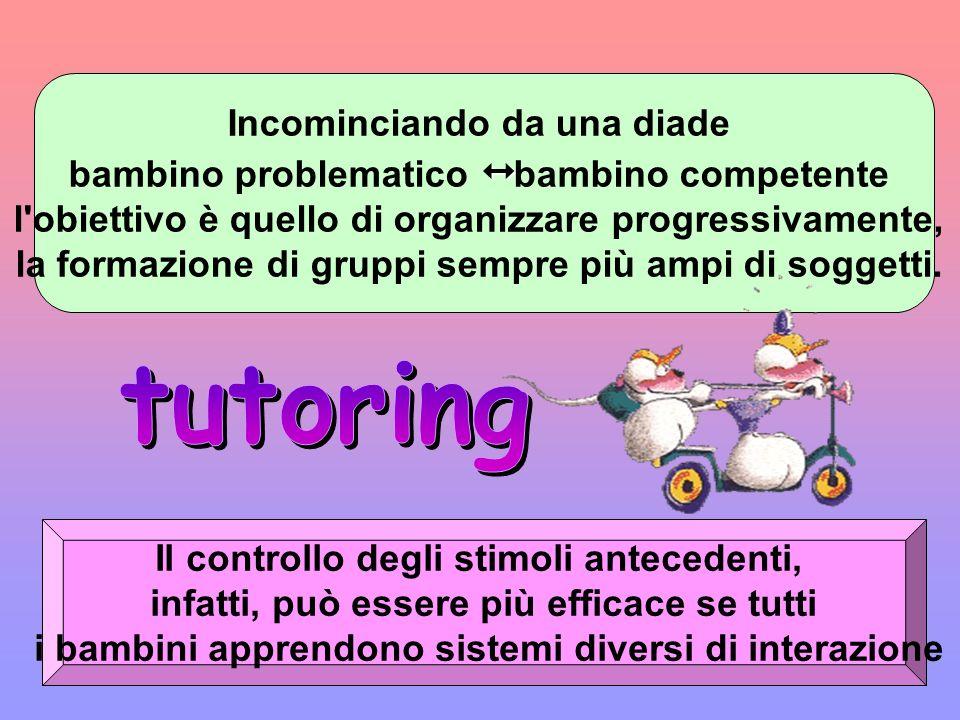 tutoring Incominciando da una diade