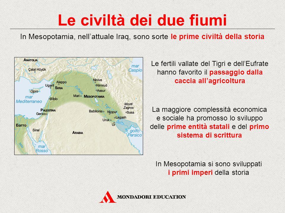 Le civiltà dei due fiumi