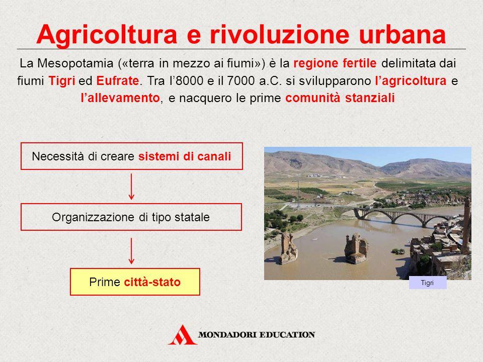 Agricoltura e rivoluzione urbana