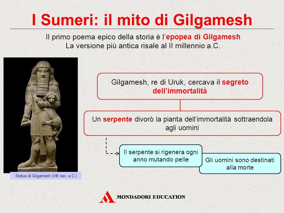 I Sumeri: il mito di Gilgamesh