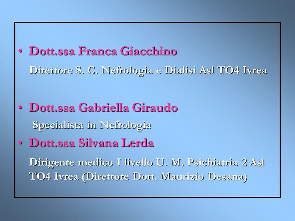 Dott.ssa Franca Giacchino