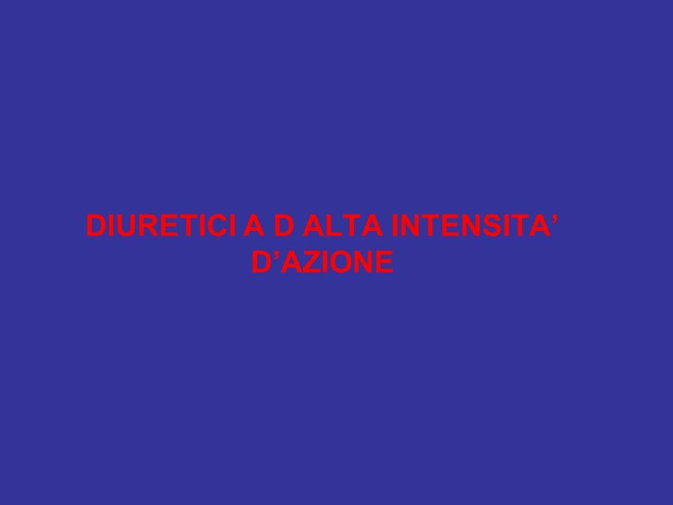 DIURETICI A D ALTA INTENSITA' D'AZIONE