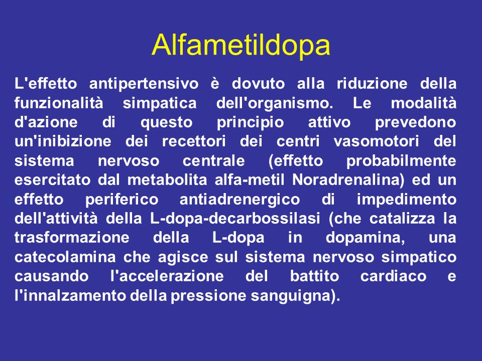 Alfametildopa