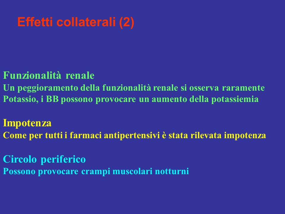 Effetti collaterali (2)