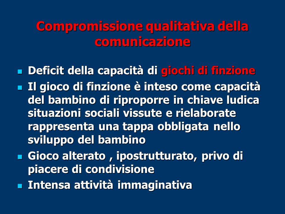 Compromissione qualitativa della comunicazione