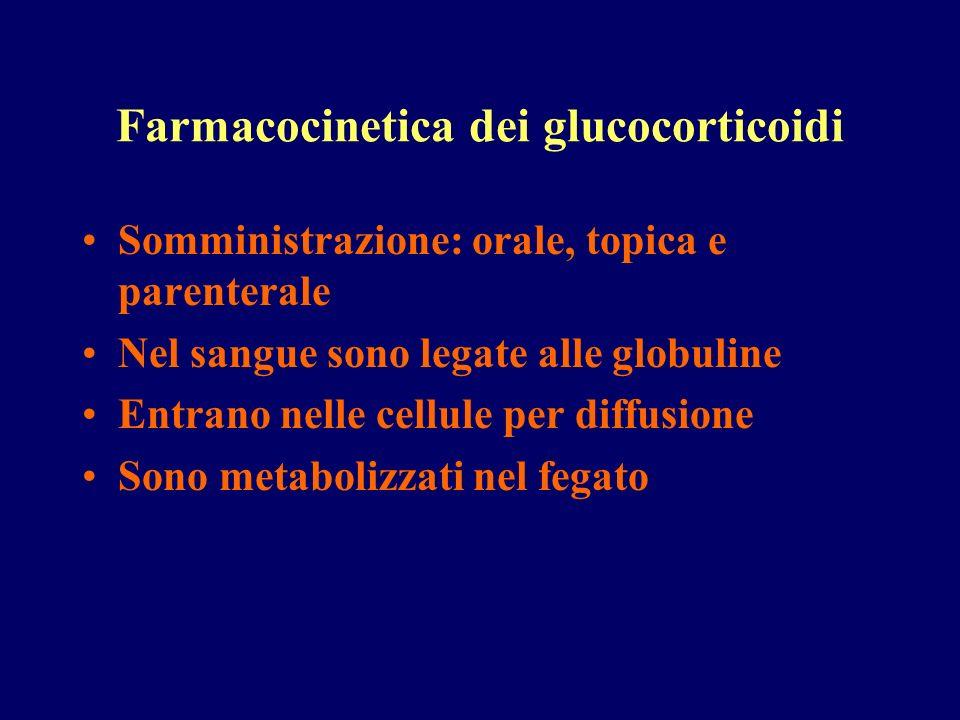 Farmacocinetica dei glucocorticoidi