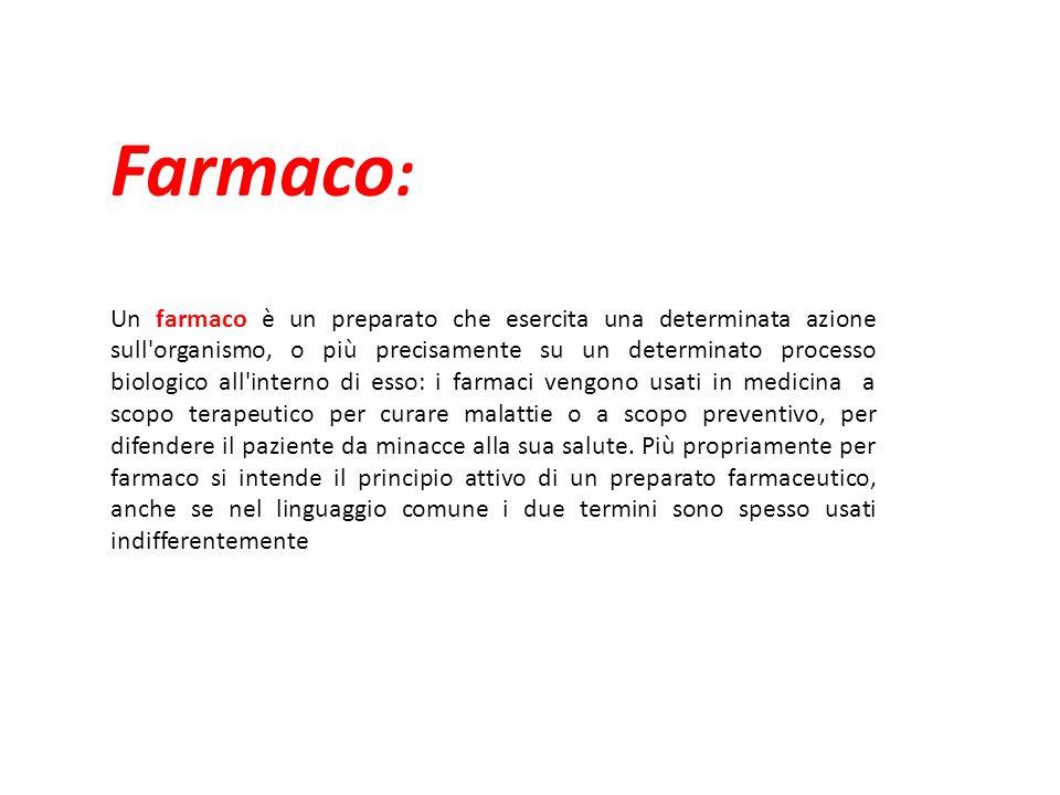 Farmaco: