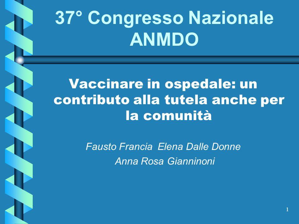 37° Congresso Nazionale ANMDO