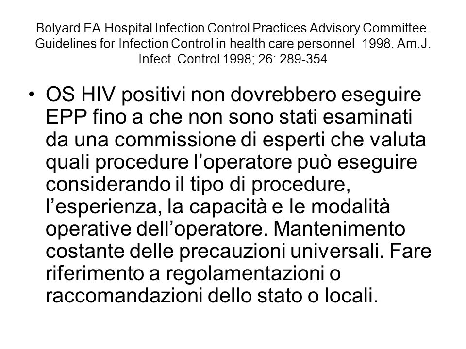 Bolyard EA Hospital Infection Control Practices Advisory Committee