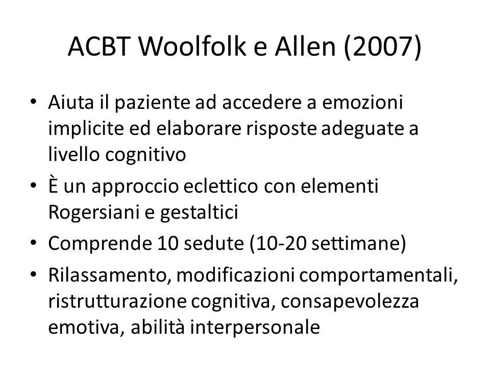 ACBT Woolfolk e Allen (2007)