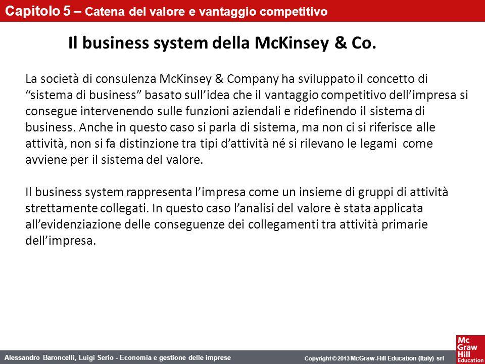 Il business system della McKinsey & Co.