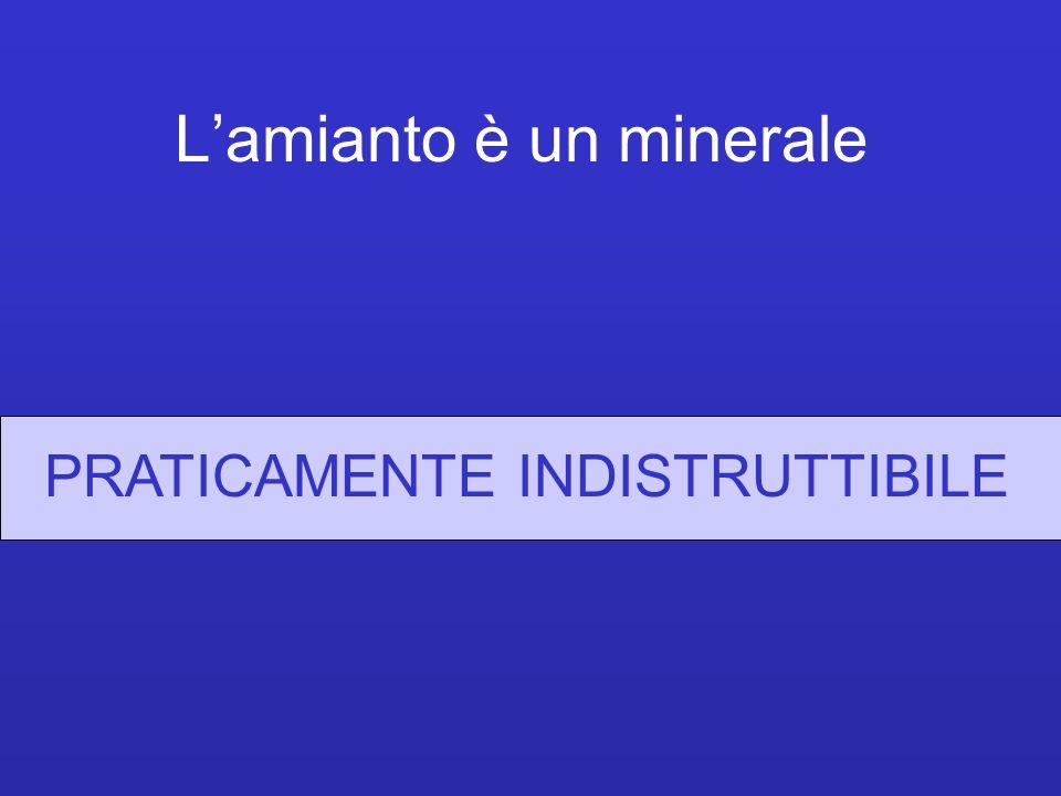 L'amianto è un minerale
