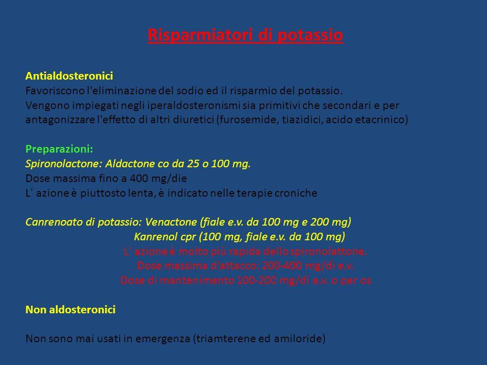 Risparmiatori di potassio