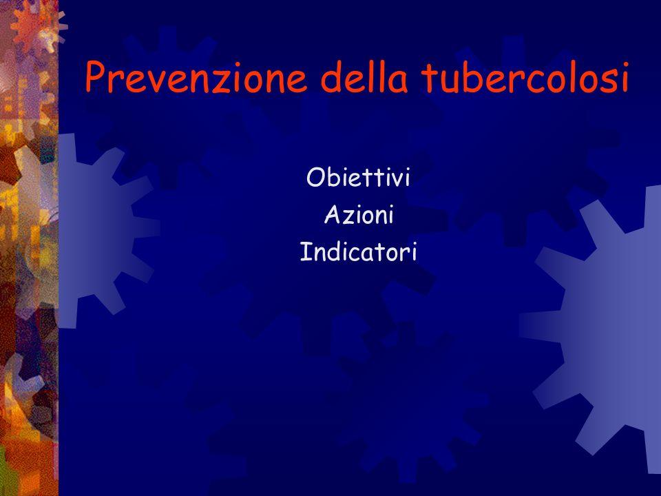 Prevenzione della tubercolosi