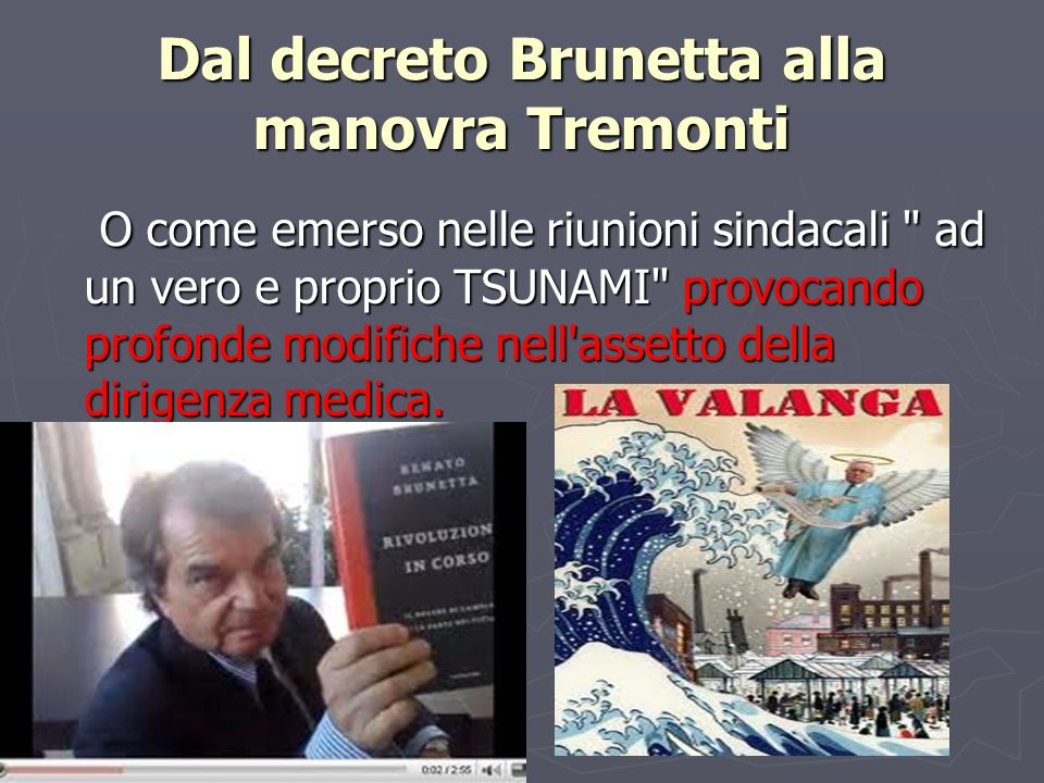 Dal decreto Brunetta alla manovra Tremonti