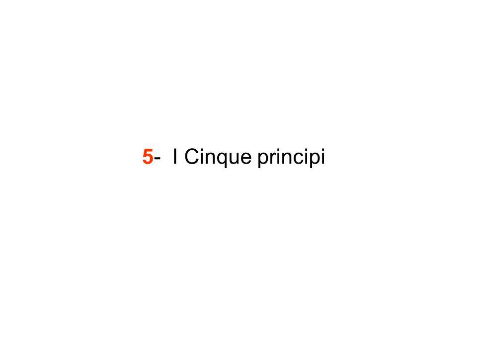 5- I Cinque principi