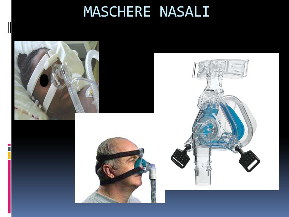 MASCHERE NASALI