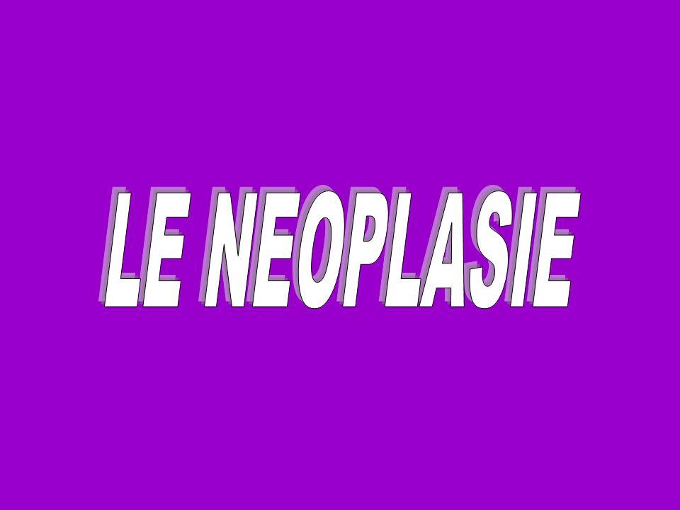 LE NEOPLASIE