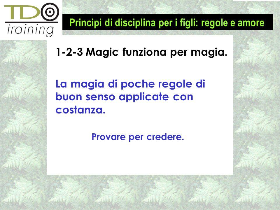 1-2-3 Magic funziona per magia.